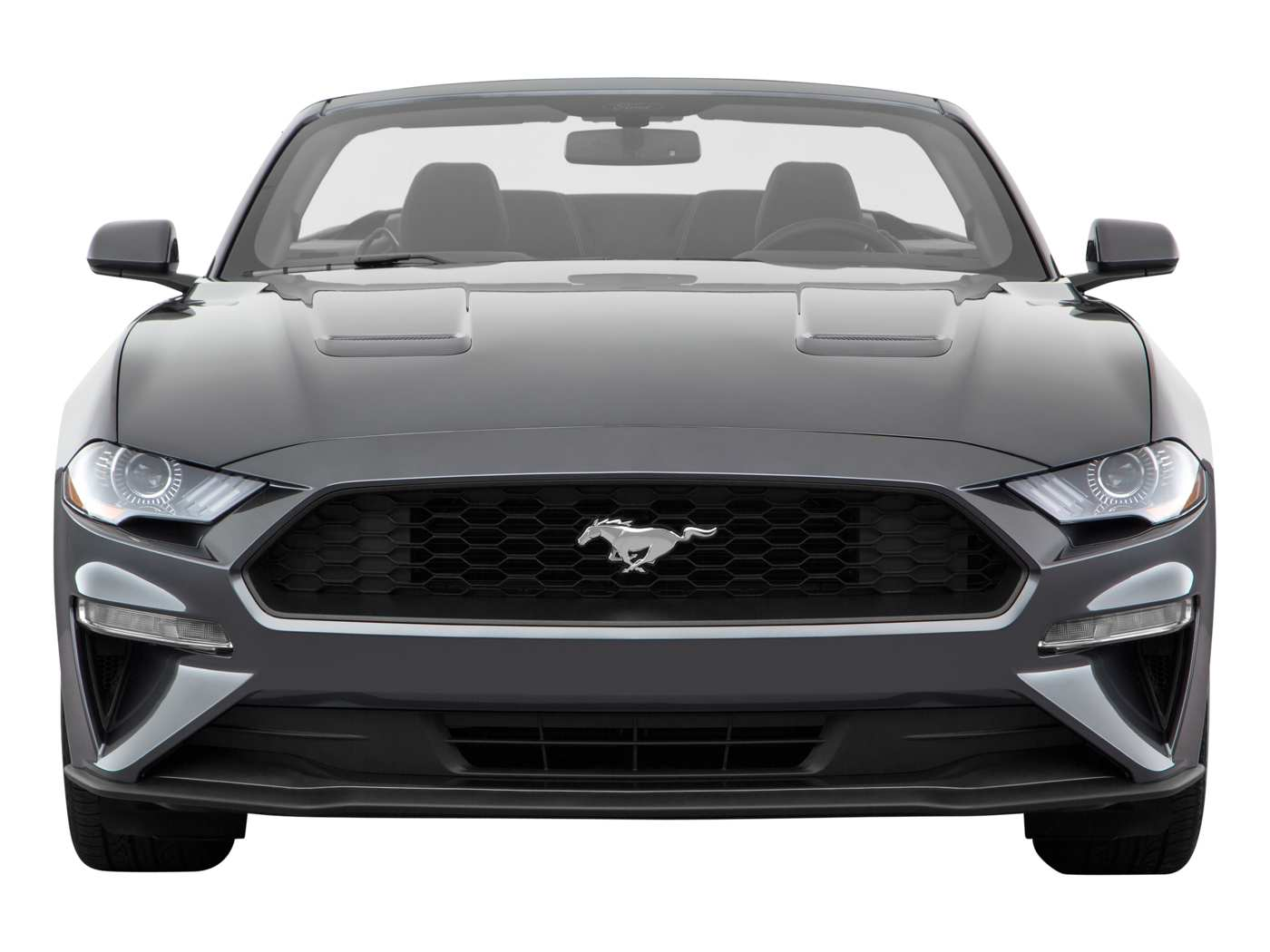 2020 Ford Mustang Ecoboost Convertible Front View