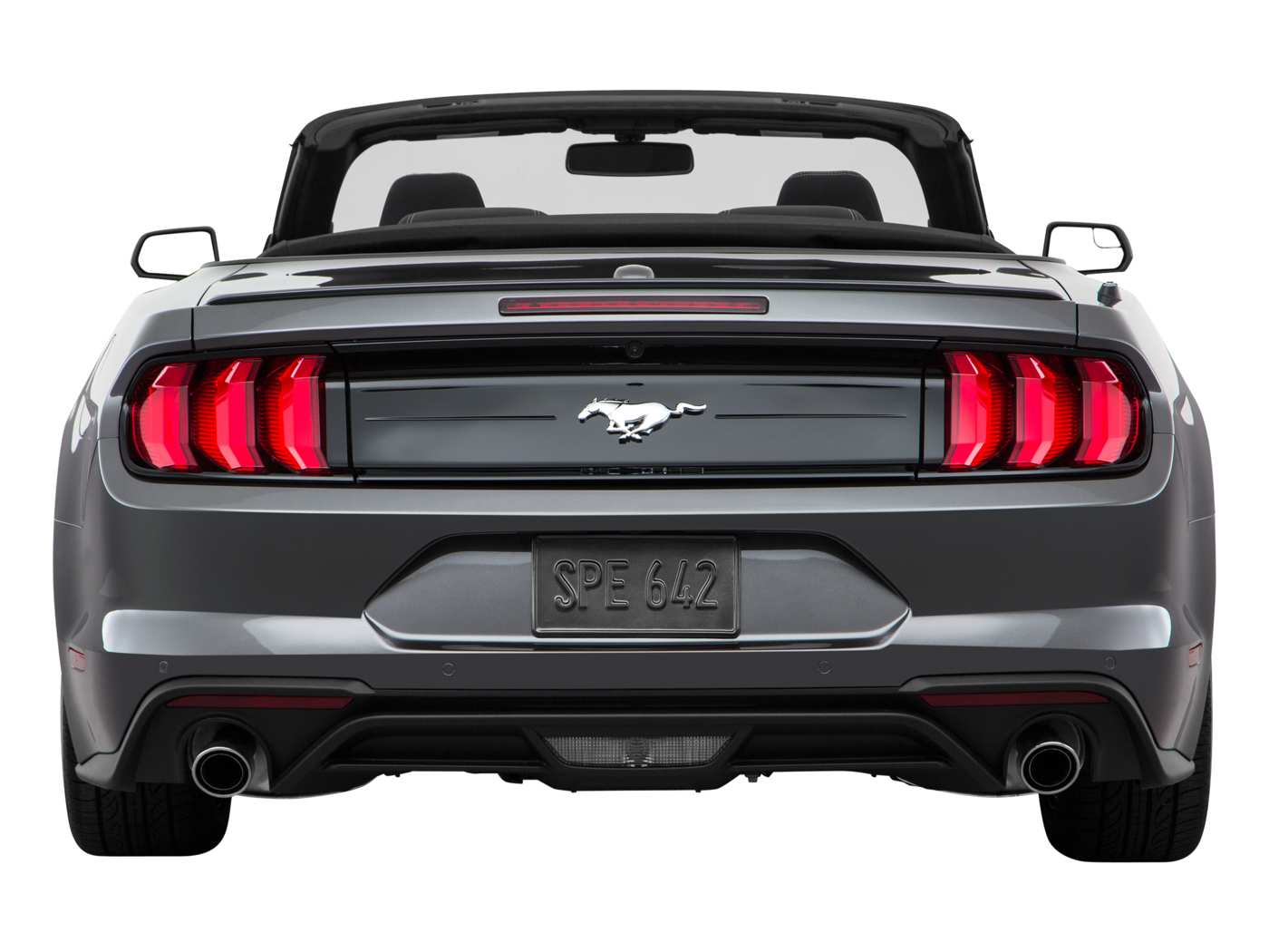 2019 Ford Mustang Ecoboost Convertible Rear