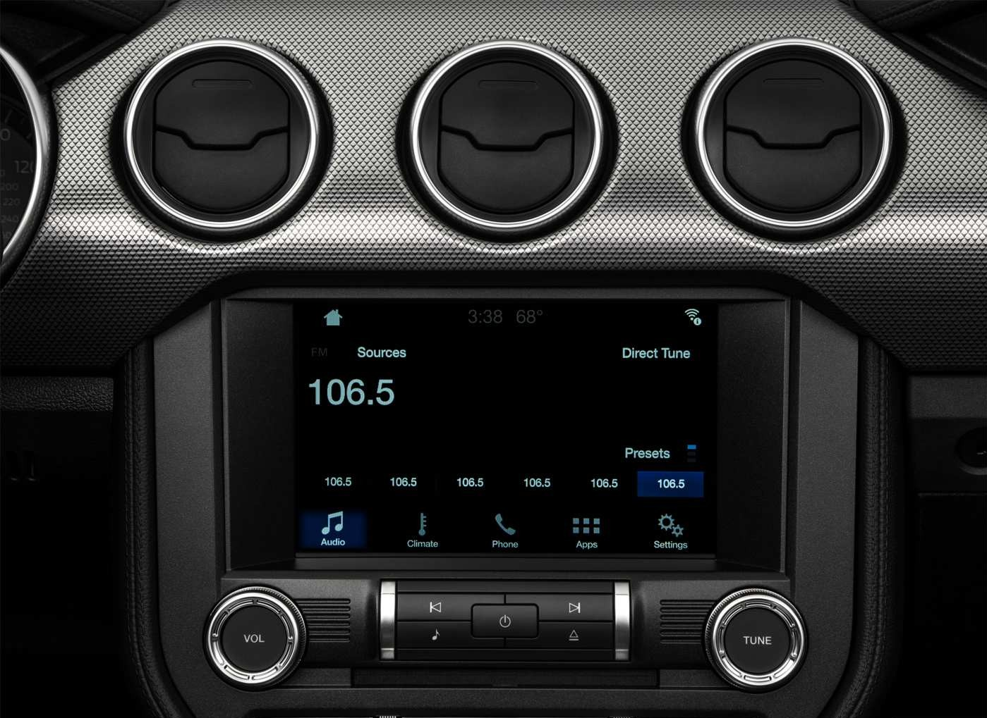 2019 Ford Mustang Ecoboost Infotainment Screen
