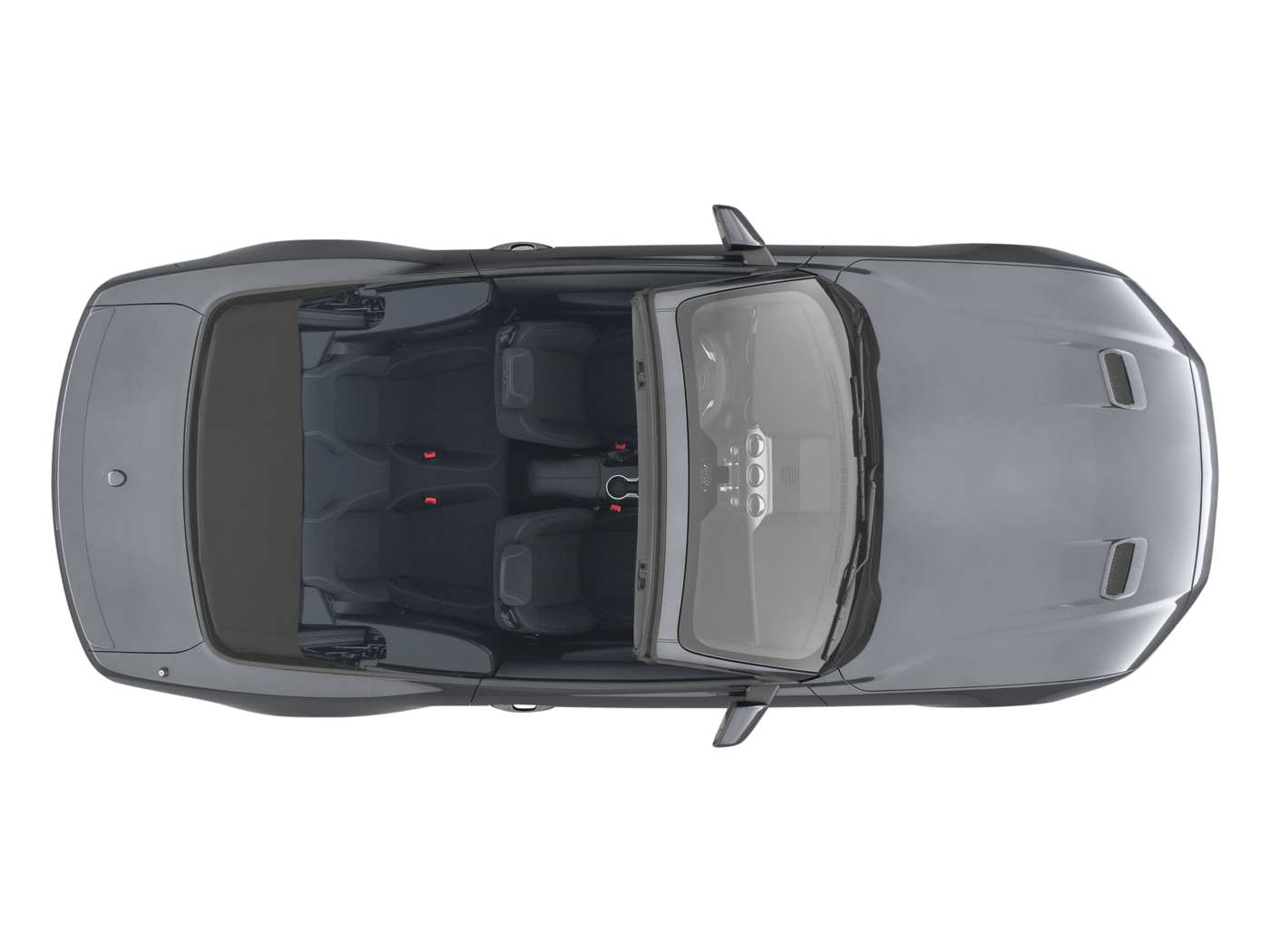2019 Ford Mustang Ecoboost Convertible Top View