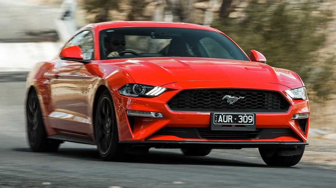 Red 2020 Mustang Ecoboost