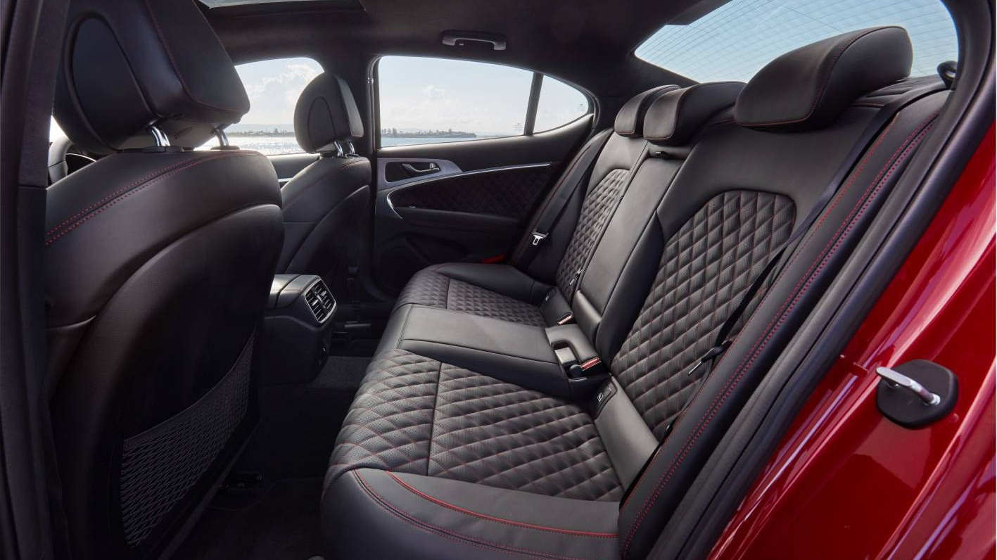 Genesis g70 interior rear seats