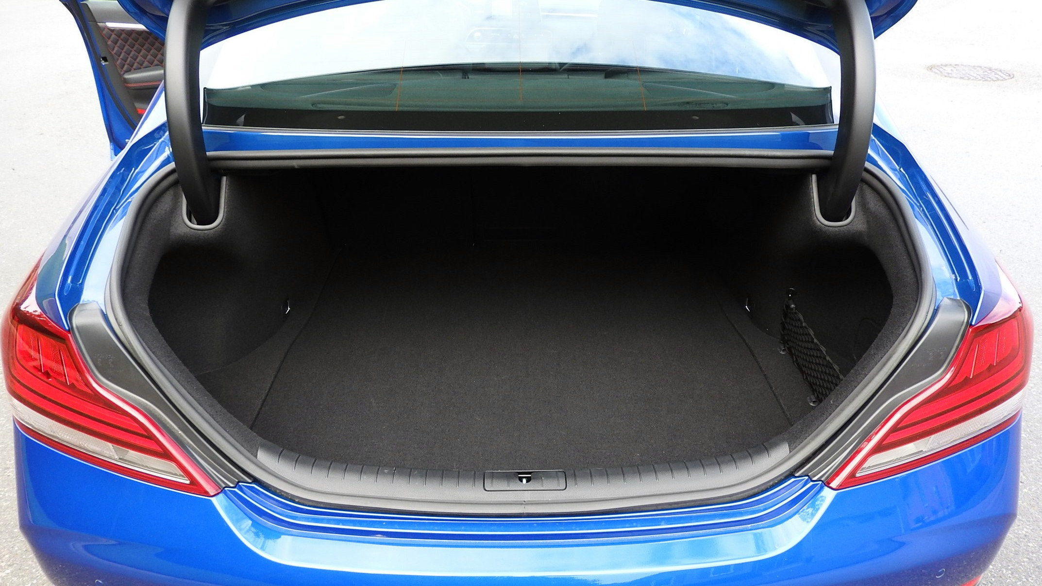 Genesis g70 cargo capacity trunk boot