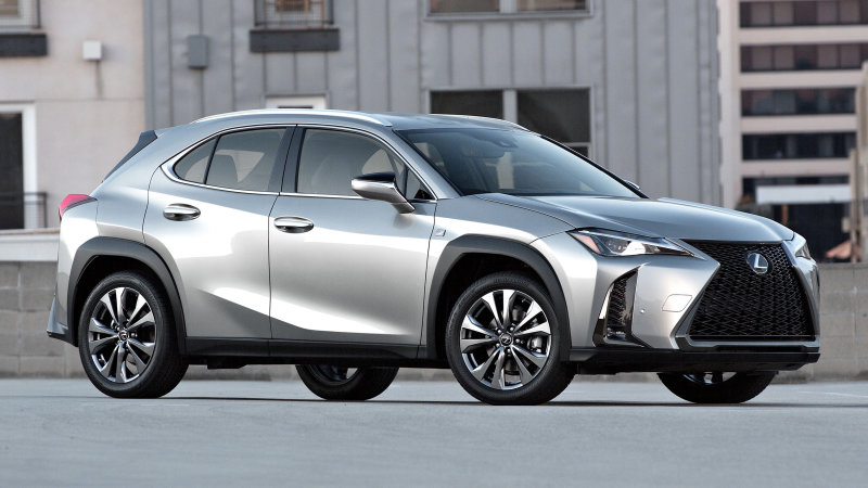 2020 lexus ux200 silver color
