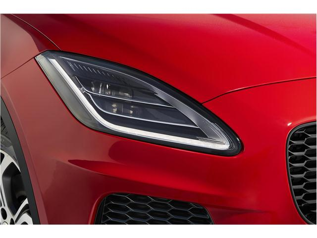 2020 Jaguar E-Pace front headlamp