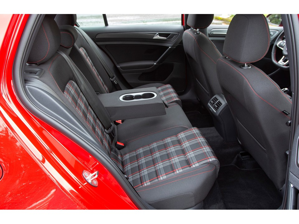 2019 volkswagen golf gti rear seats clark plaid